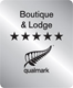 Qualmark - Boutique & Lodge 5 stars